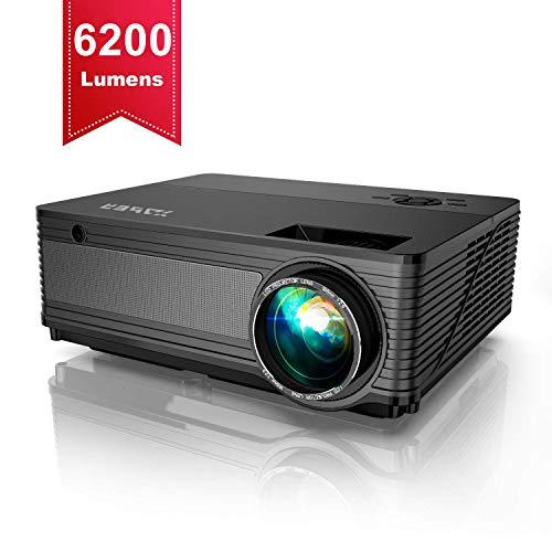 Proyector,YABER 6200 Lúmenes Proyector Full HD 1920x1080P