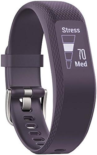 Garmin vívosmart 3 - Bracelet de Fitness avec Cardio Poignet - Taille M - Violet
