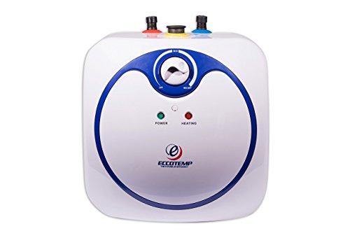 Eccotemp EM-2.5 Electric 2.5 Gallon Mini Tank Water Heater, White