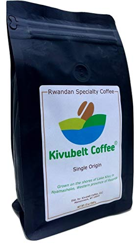 Kivubelt Coffee - Farm to Cup - Rwandan Specialty Coffee - Premium Quality Arabica Specialty Coffee directly from the award winning Kivubelt Coffee Farm in Rwanda - 16 Ounce Whole Bean Coffee …