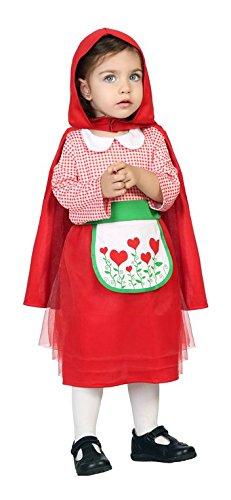 Atosa 24411 - Cappuccetto Rosso, vestiti del bambino, 6-12 mesi
