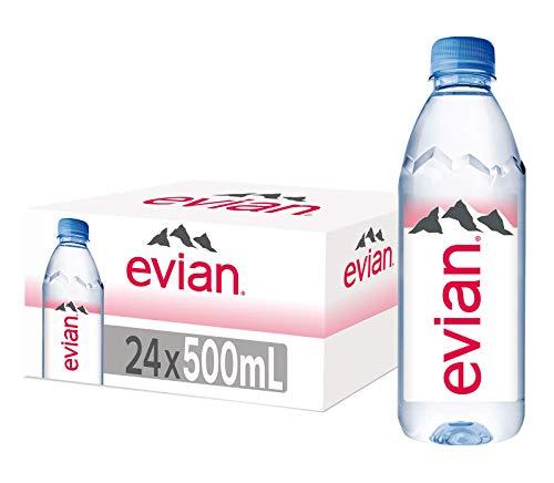 Evian Acqua Minerale Naturale, 24 x 500ml