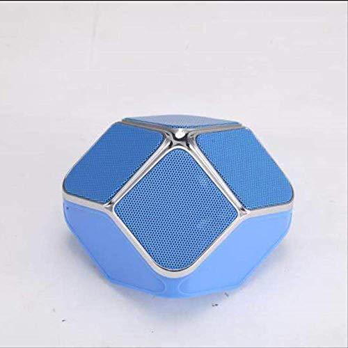 Mirage USB Woofer Subwoofer-TF-Karte Music Center drahtlose beweglicher Heimkino-Bluetooth-Lautsprecher PC-Lautsprecher Red (Color : Blue)