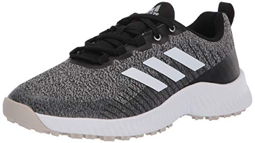 adidas Women's W Response Bounce 2 SL Golf Shoe, core Black/FTWR White/Clear Brown, 7 Medium US