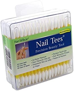 Fran Wilson Nail Tees Cotton Tips 120 Count (3 Pack)