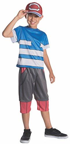 Rubie's Pokemon Child's Ash Costume, Large