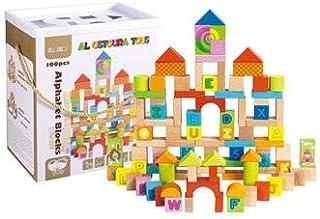 Al Ostoura Toys 100PCS Blocks Educational Wooden Toy
