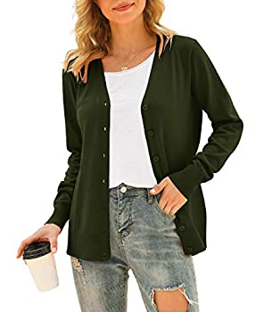 Best olive green cardigan womens Reviews