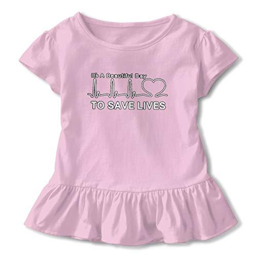 Toddler Dive Scuba Diving Cute Short Sleeve Tee Tops Size 2-6