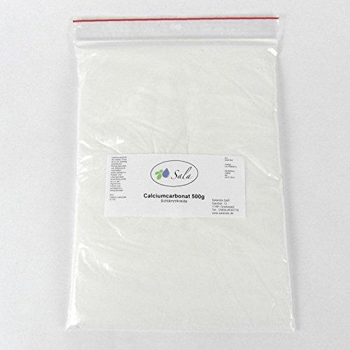 Sala Calciumcarbonat Schlämmkreide E 170 CaCO3 500 g
