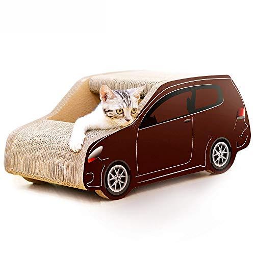 Cat nest SUV auto vorm golfpapier kat krasplank kat klauwen speelgoed kat huisdier benodigdheden naar stuur kat gras