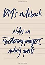RPG Journal: Mixed paper: Ruled, graph, hex: For role playing gamers: Notes, tracking, mapping, terrain plans and design: DM's notebook funny cover
