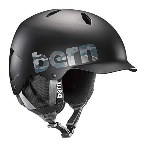 Bern Jungen Bandito Helm, Matte Black Camo, Small/Medium