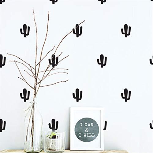 stickers muraux bebe disney Cactus Pattern Kids Nursery Bedroom Decor Set Pattern