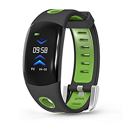 Fitness Tracker, Fitness Watch Activity Tracker with Heart Rate Monitor, IP68 Waterproof Smart Wristband with Calorie Counter Sleep Monitor Pedometer with 3D Color Dynamic UI for Android & IOS phone