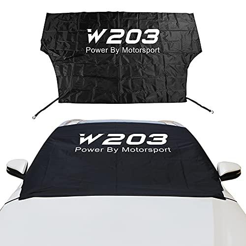 XDRE Sun Auto-Sonnenschutz Auto Windschutzscheibe Schnee EIS Staubblock Sun Shade Cover Kompatibel mit Mercedes Citan R V Class Sprinter Viano Vito W203 W204 W124 Zubehör Mesh Auto Schatten