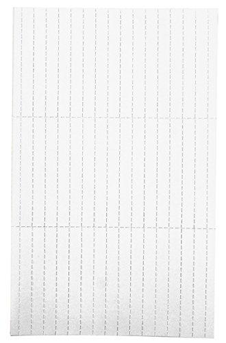 Legamaster 7-455419 Einlegeetiketten für Legamaster Etikettenträger, perforiert, 90 Stück, 20 x 60 mm, weiß