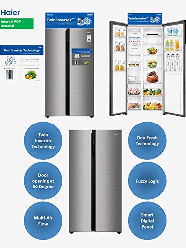Haier 570 L Side by Side Refrigerator