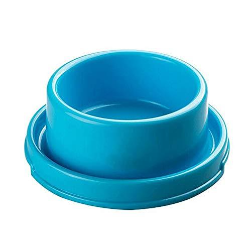 NSDD, ciotola per cani e gatti, in plastica antiscivolo, per cibo e cibo, ciotola anti-formiche