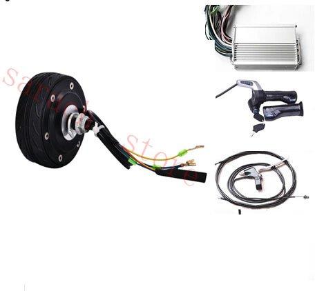 4 Zoll 150W 24V einzelne Welle Linie elektrische Radnabe Motor elektrische Fahrrad Umbausatz Elektroroller Motor