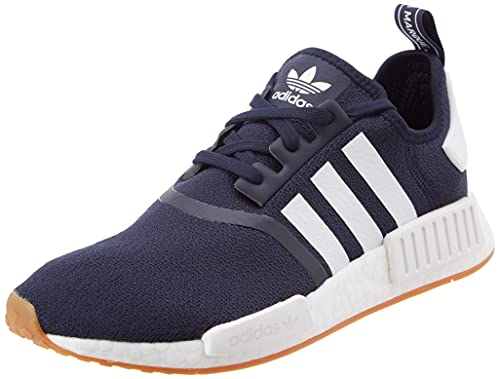 adidas NMD_R1, Sneaker Hombre, Collegiate Navy/Footwear White/Gum, 40 EU