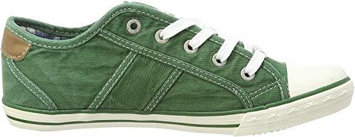 MUSTANG Damen 1099-302-709 Sneaker, Grün (Grasgrün 709), 37 EU