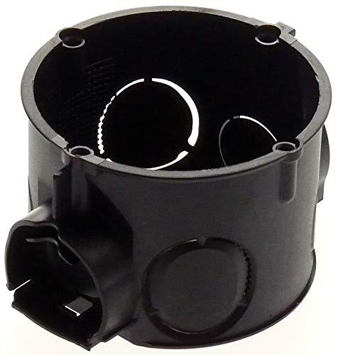 5x Unterputz Schalterdose Abzweigdose Gerätedose Verbindungsdose 60x41mm flach TYP 38 schwarz