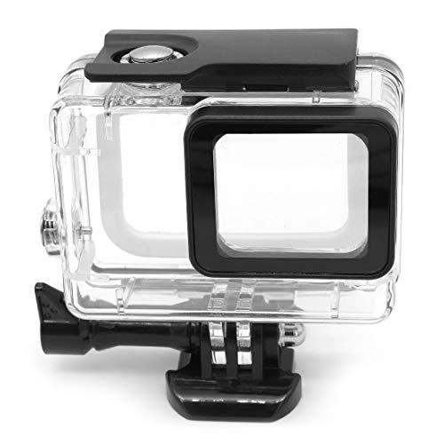 Hensych 45m Onderwater Waterdichte Case voor GoPro Hero 7 6 5,Duiken Beschermende Cover Behuizing Shell Mount Cage