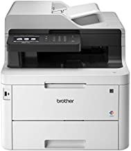 "Brother MFC-L3770CDW Compact Wireless Digital Color All-in-One Printer with NFC, 3.7"" Color Touchscreen, Automatic Document Feeder, Wireless and Duplex Printing and Scanning"
