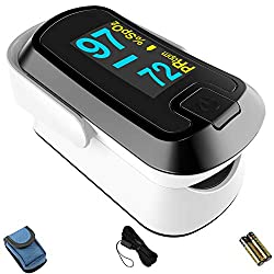 Buy a pulse oximeter for home use on WebByWebb.com