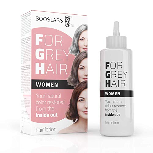 For Grey Hair for Women un producto cubre canas, recupere el color original de su bigote, el retoque de las raíces del cabello, no es un Tinte pelo, una composición enzimática única