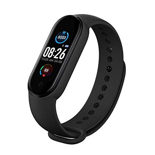OUJIN M5 Smart Sport Band Fitness Tracker Schrittzähler Herzfrequenz Blutdruckmessgerät Bluetooth Smartband Armbänder Herren Damen