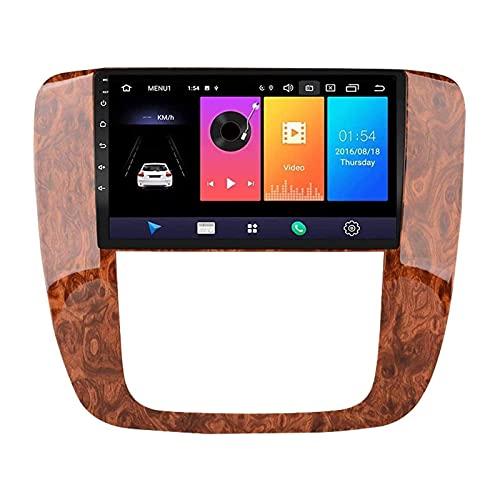 ZHANGYY Reproductor Multimedia estéreo para automóvil de 9 Pulgadas Compatible con Buick GMC 2007-2012, Android 8.1 Doble DIN/GPS/FM/Bluetooth/Controles del Volante/Cámara de visión traser