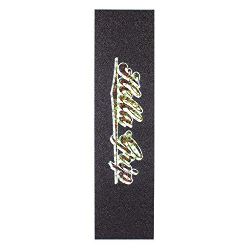 Hella Stunt-Scooter Griptape 420/20 - Cinta de agarre para patinete (incluye pegatina Fantic26), color verde