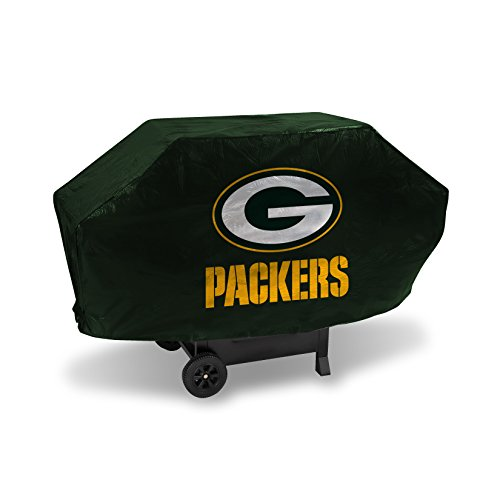 NFL Rico Industries Vinyl Padded Deluxe Grill Cover, Green Bay Packers