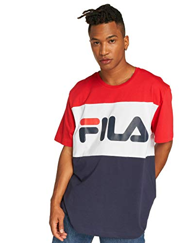Fila Herren T-Shirts Urban Line Day blau S