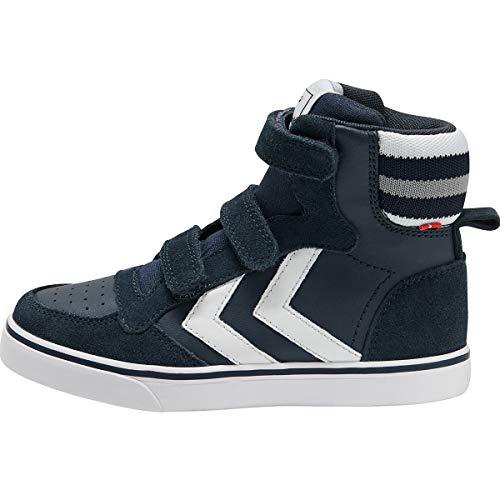 hummel Stadil Pro JR Kinder Schuhe Sneaker Blue Nights 205753-7429, EU 33