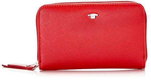 TOM TAILOR Acc Damen 27200 Geldbörse, Rot (Rot), 20x10.5x2.5 cm