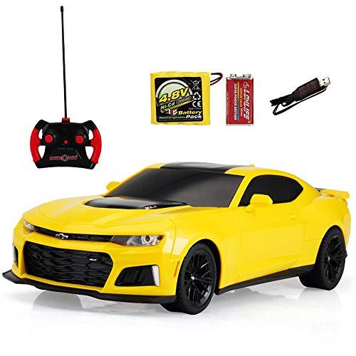 Kikioo Radio vehiculo electrico control remoto de coches 01:12 Modelo recargable 2.4G RC Carrera Controladas deriva Coches Escalada fuertes Hobby juguetes for los ninos de chicas regalos de Navidad Pa