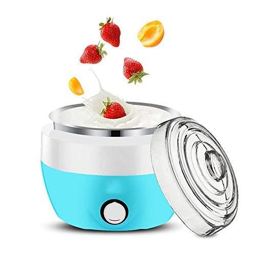 Joghurtbereiter Stromlos, Edelstahlliner Vollautomatischer Betrieb GleichmäßIge ErwäRmung Um 360 ° GäRung Bei Konstanter Temperatur Joghurtmacher Vegan Haushalts-Mini-Joghurt-Maschine