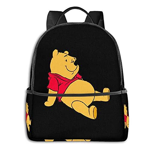 Winnie The Pooh - Mochila impermeable, ligera, para viajes, senderismo, trabajo, para hombre