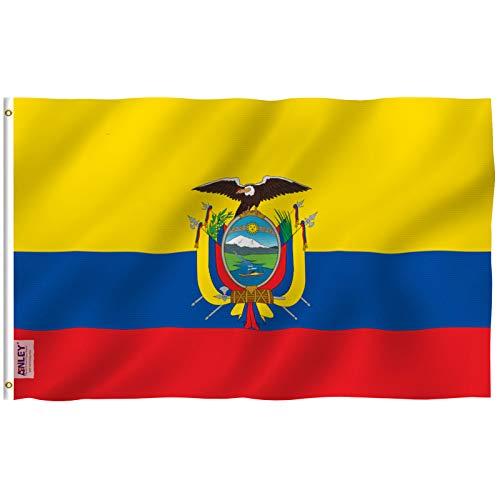 Anley Ecuador Flagge Fly Breeze 3x5 Fuß Ecuador Flagge