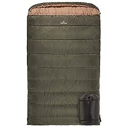 60 Wide Sleeping Bag Teton Sports