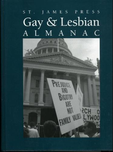 St. James Press Gay & Lesbian Almanac