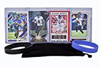Lamar Jackson Football Cards (4) Assorted Bundle - Baltimore Ravens Trading Card Gift Set
