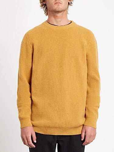 Volcom Glendal Sweater, Felpa Uomo, Oro Inca, XL