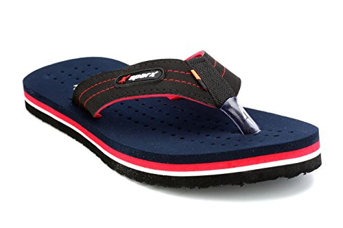 Sparx Men's Black and Navy Flip-Flops and House Slippers - 7 UK/India (40.67 EU) (SFG-517)