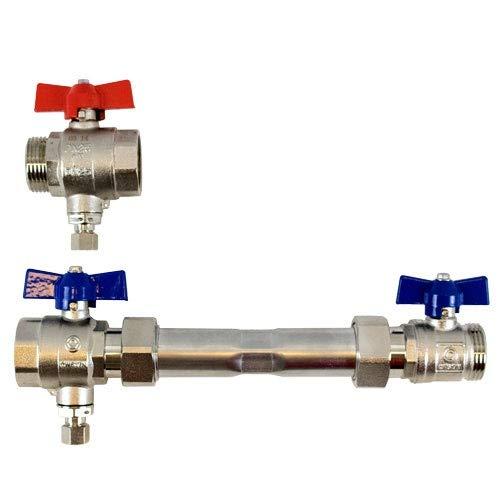Strawa E-class AG 1''-WMZ-2F-M12 - Juego conectores