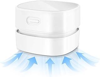 Pelo Mascotas Linterna Bater/ía Recargable USB L /& B Mini Aspiradora de Mano sin Cable Potente peque/ño port/átil Inal/ámbrico succi/ón Fuerte para Coche Mesa Oficina luz de Emergencia