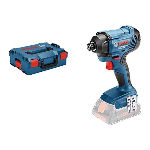 Bosch Professional GDR 18 V - 160 Cordless Drill and Impact Driver (Battery Not Included, 18 V, Maximum Torque: 160 Nm, L - BoxX)